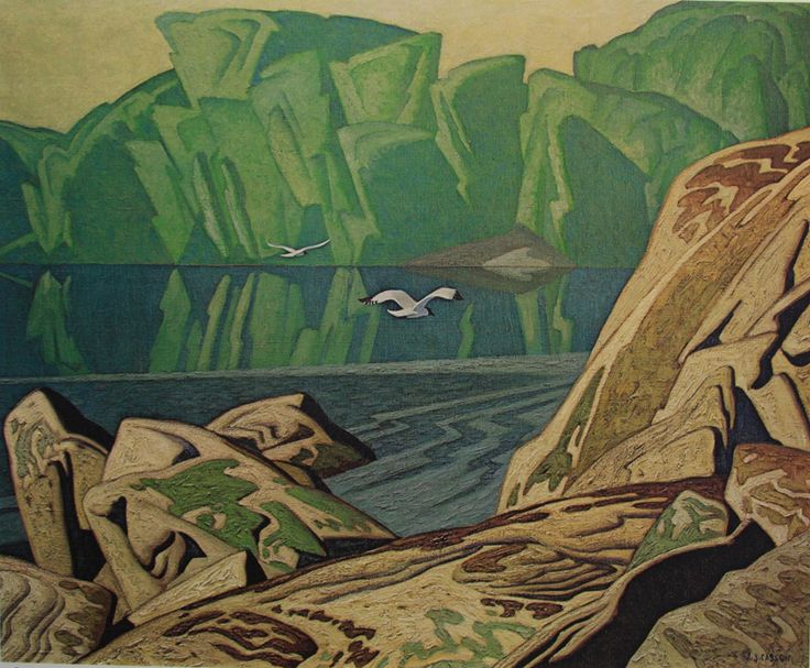 A. J. Casson, Summer Morning, Canadian Group of Seven