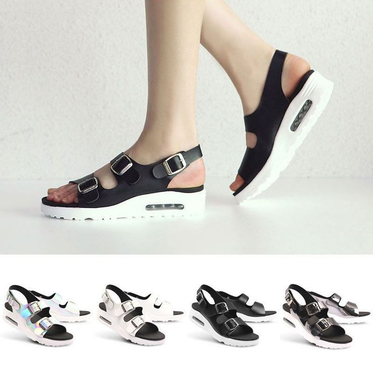 Paperplanes Pp1413 Womens Sport Sandals Air Wedge Sandals Slingback Beach Shoes