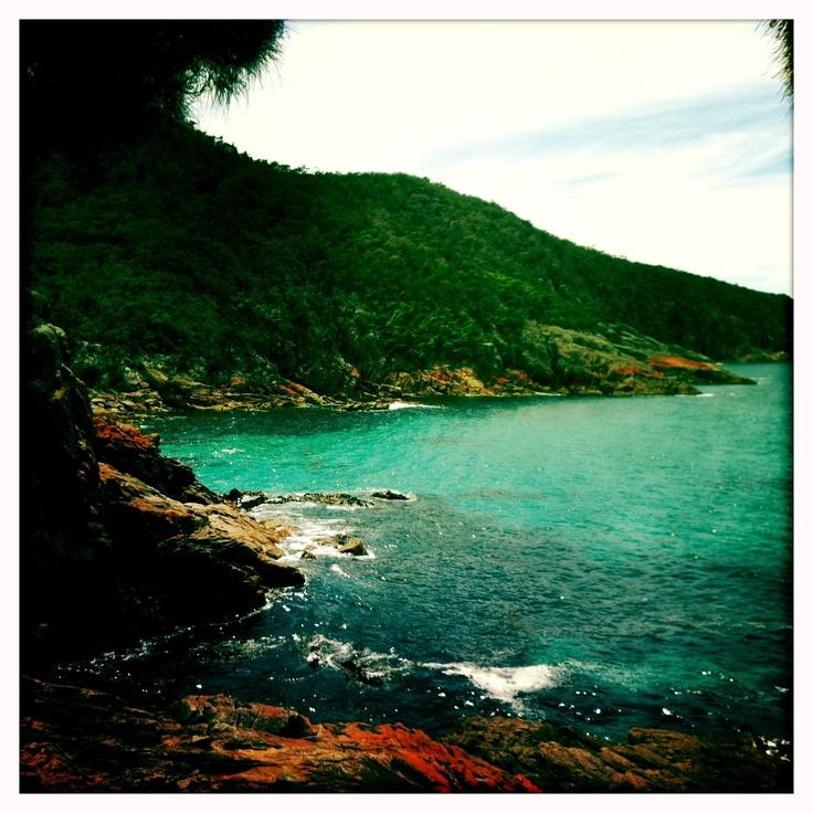 Sleepy Bay. Freycinet National Park. East Coast of Tasmania