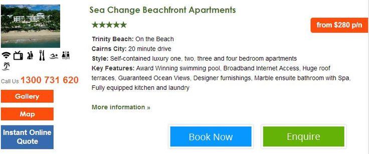 Sea Change Beachfront Apartments Book today http://www.fnqapartments.com/accom-sea-change-beachfront-apartments/