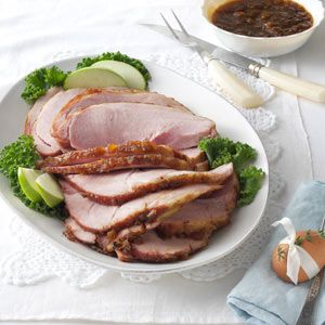 Glazed Pineapple Ham   (Taste of Home Subscriber Exclusive)