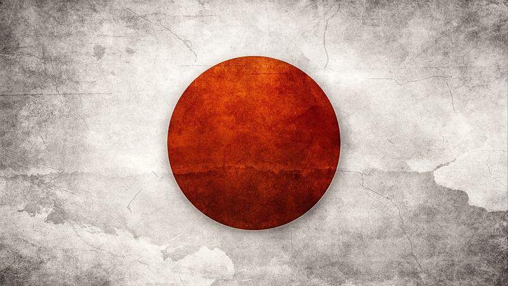 Papel De Parede Bandeira, Japão, A P
