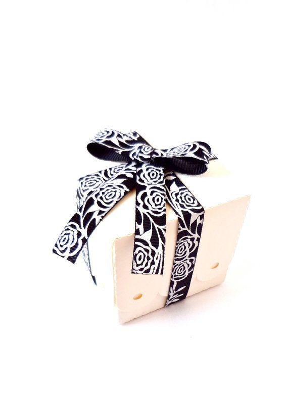 100 Mini White Favor Boxes / Wedding Favour Box by ThePaperBazaar, $65.87