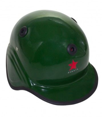 Baseball Helmet Fiber Glass Color Availability :Green Size : Standard  Type :Fiber Glass Pro