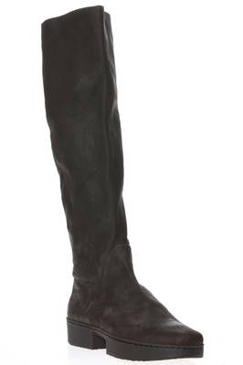 PATROL high boot in nabuk effect treated cowhide soft leather - TRIPPEN