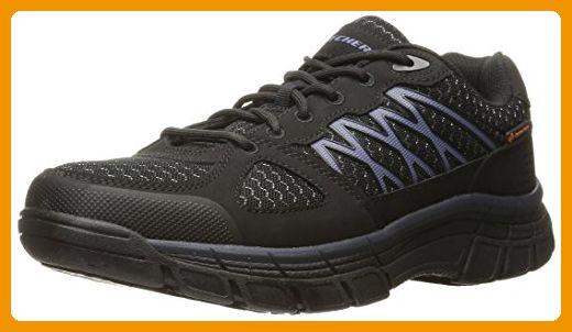 Skechers for Work Men's Conroe Dierks Work Shoe, Black, 13 M US