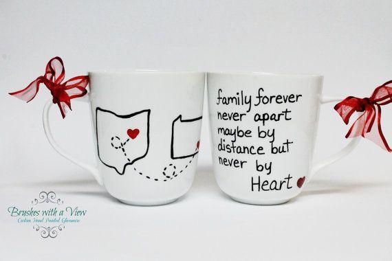Coffee+Mug+State/Country+Long+Distance+Mug++by+Brusheswithaview