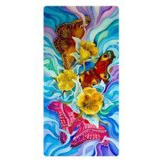 Színes pillangók falikép