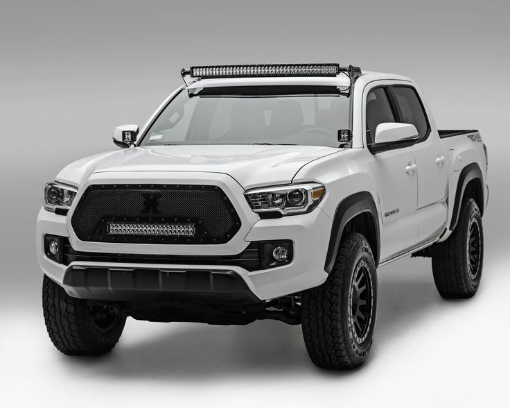 2016 Tacoma TRD off-road with Z-ROADZ LED lights and brackets.