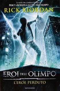 Nuvole di Idee: Recensione: L'Eroe Perduto. Eroi dell'Olimpo - Ric...
