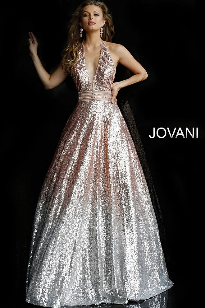 rose gold prom dress, metallic dresses, prom dress, prom