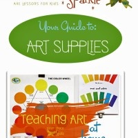 www.deepspacesparkle.com - online art lessons for teaching art at home