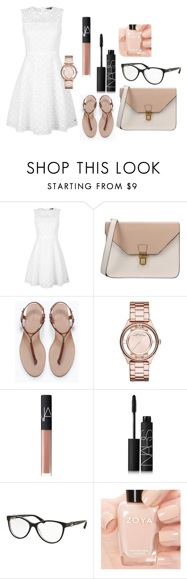 Untitled #1 by keepsmileanna on Polyvore featuring beauty, NARS Cosmetics, Bulgari, Marc by Marc Jacobs, 8, Tommy Hilfiger and Zara