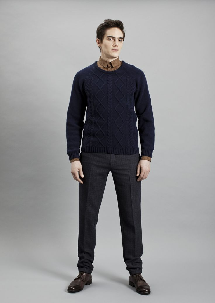 Tela Shirt, Frans Sweater and Presley Trousers | Samuji Men Fall Winter 2014 Collection