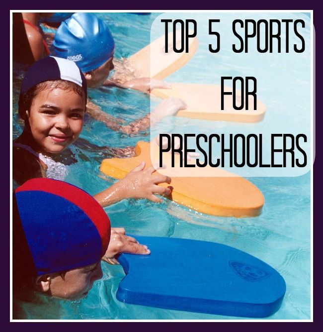 Get Your Kids Active Early - Top 5 Sports for Preschoolers