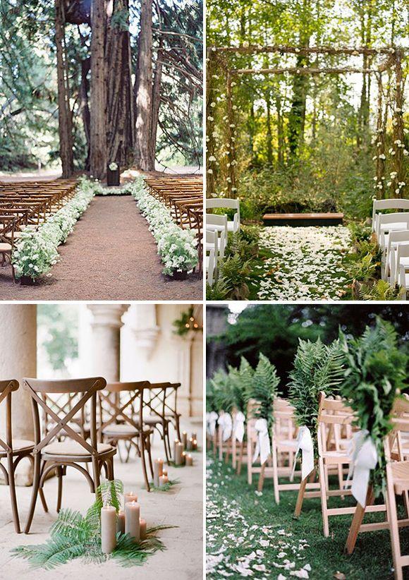 tendencias para bodas decoracion con helechos