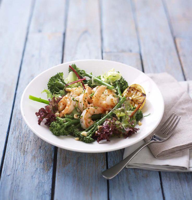 Skinny King Prawn Salad | Discover New Favourites with the Zizzi Spring Menu 2014 #ZizziFavourites