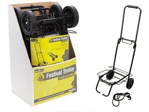 Summit Folding Camping Luggage Trolley