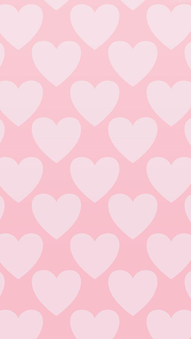 Fondo corazones rosa
