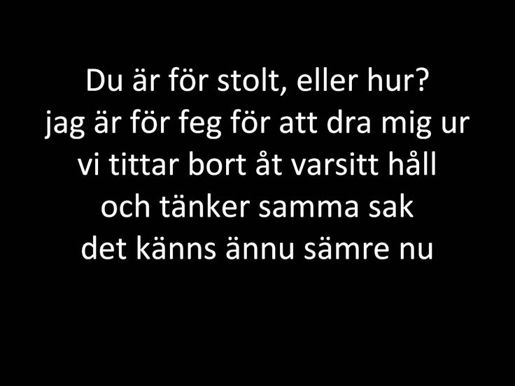 Melissa Horn - Det känns ännu sämre nu + lyrics | GERMANIC ... Horns Lyrics