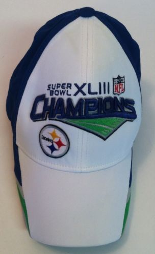 Super Bowl XL 111 PITTSBURGH STEELERS NFL CHAMPIONS CAP HAT FITTED REEBOK