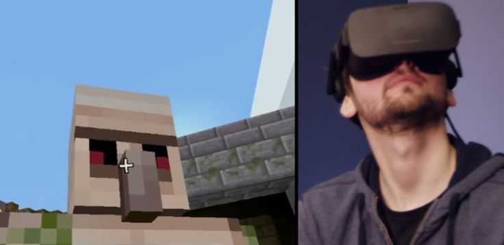 You can now play VR Minecraft on the Oculus Rift