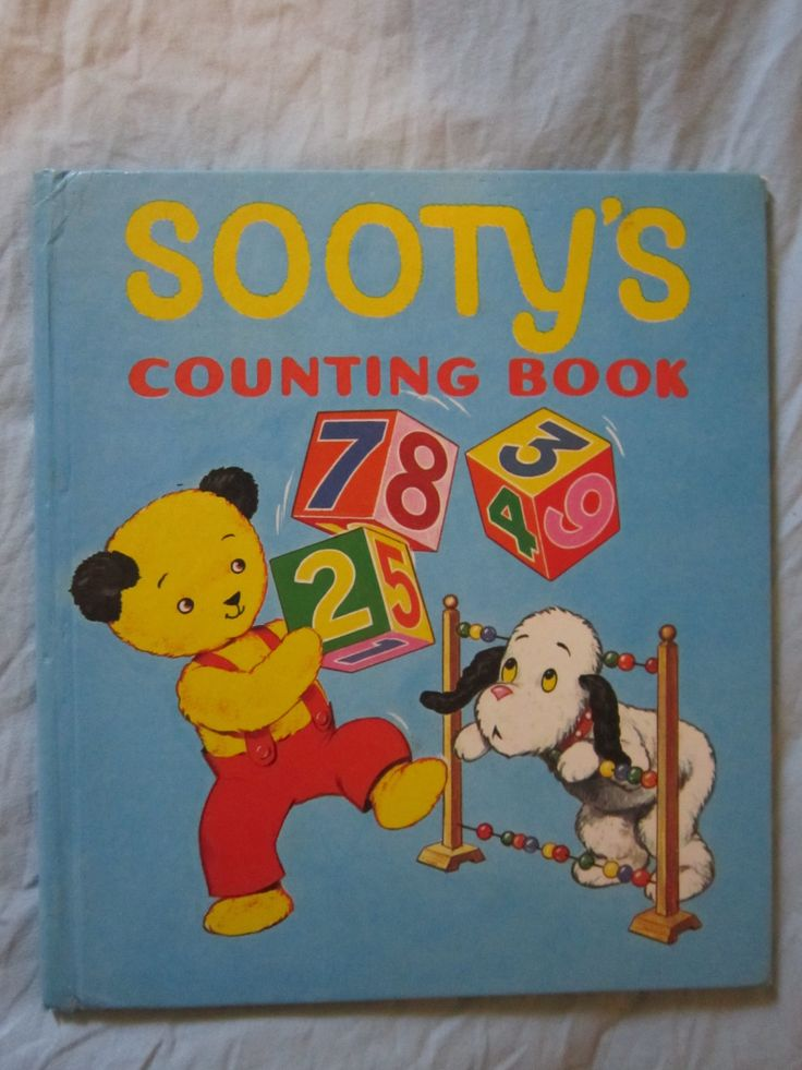 Sooty's counting book