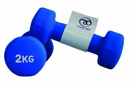 Fitness-Mad Pair of Neo Dumbbells – Blue, 2 kg (Set of 2) | Your #1 Source for Sporting Goods & Outdoor Equipment