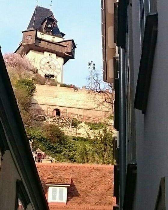 Stadt Graz Blick auf den Schlossberg # insekten #garten #foto #fotografie #stadt …   – Kulturelle Architektur – #Architektur