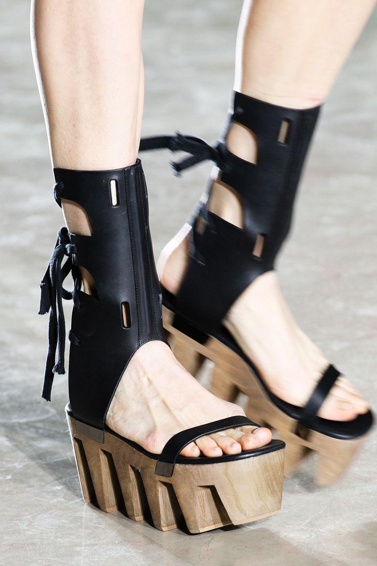 Rick Owens Multicolor Tartan Platform Sandals WsOXfO6
