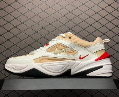 sale retailer 88af2 15ead Buy Nike M2K Tekno White Yellow Red-Black Shoes AO3108-102