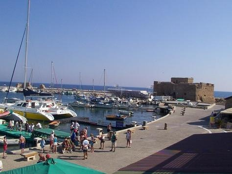 CYPRUS.... PAPHOS. Harbour & Kato Paphos. It is is a castle built in the first years of Lusignan rule (beginning of the 12th century)