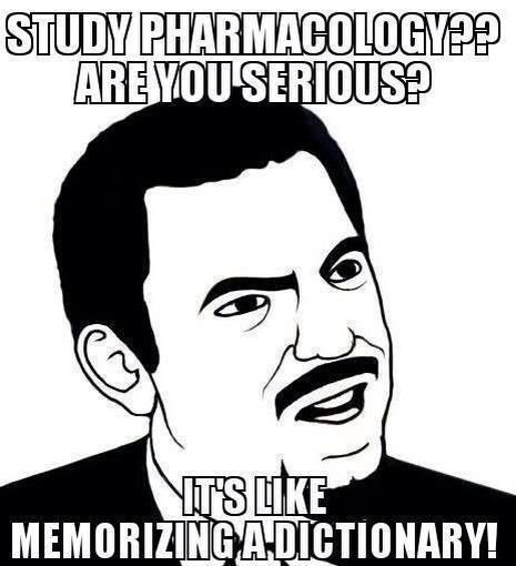 Me right now #pharmacology #nursing school