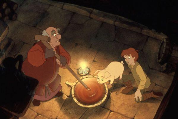 Taram et le chaudron magique (1985)