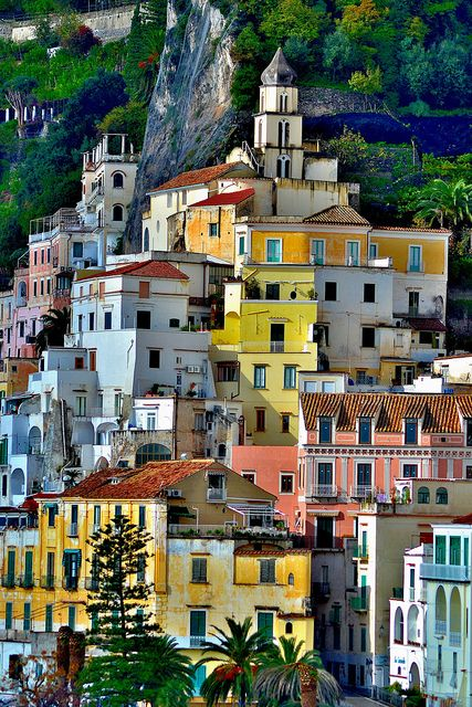 Amalfi, Italy. Perfect place for couple or lovers, family indeed. Beautiful yet outstanding view