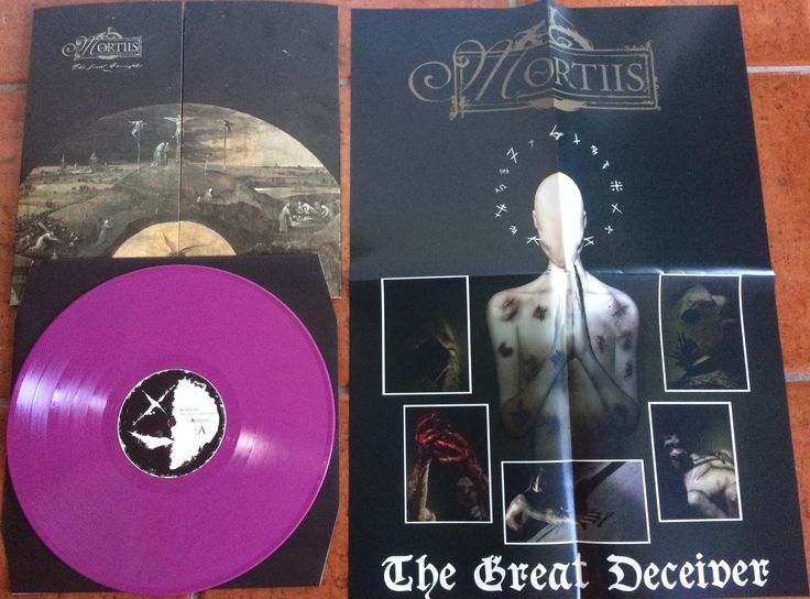 Mortiis The Great Corrupter LP Purple vinyl. 99 copies made.