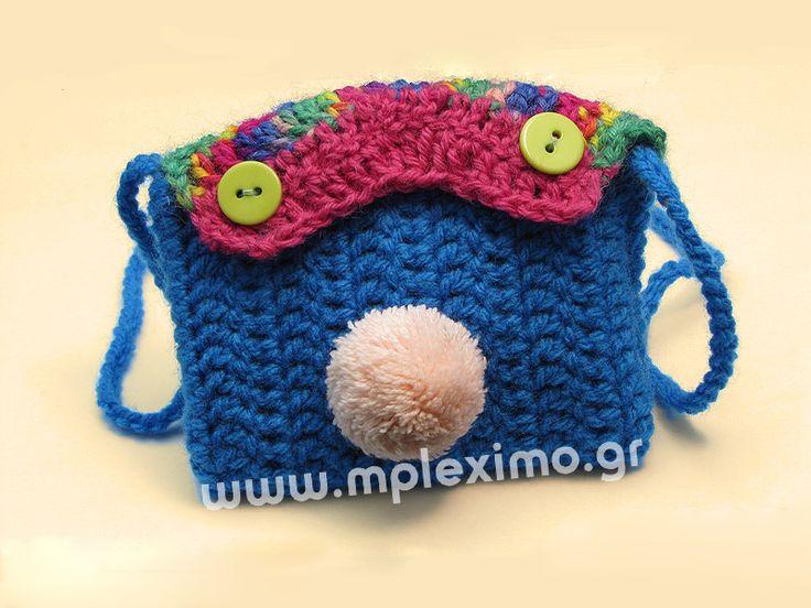 crochet small bag my crochet: for children Pinterest