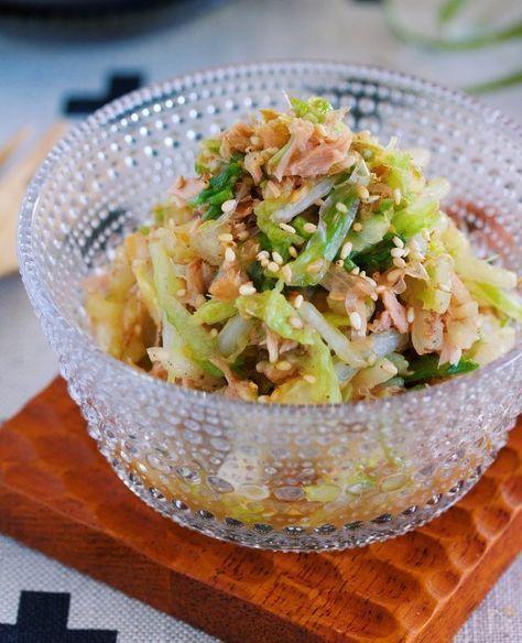 これは危険!無限に食べれる♪『白菜とツナのおかかポン酢あえ』 by Yuu