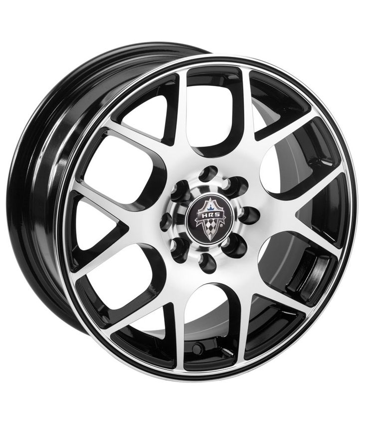 HRS - H 742 - FULL MACHINED BLACK - 14 Inch Alloys (Set of 4), http://www.snapdeal.com/product/hrs-h-742-full-machined/1657956668