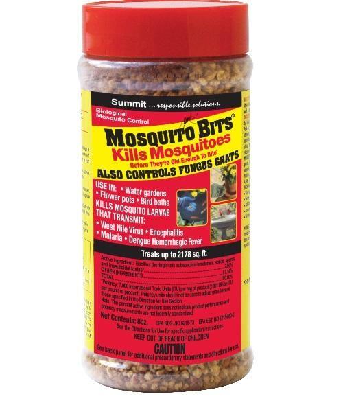 Summit Chemical 116-12 Quick Kill Mosquito Bits, 8 Oz