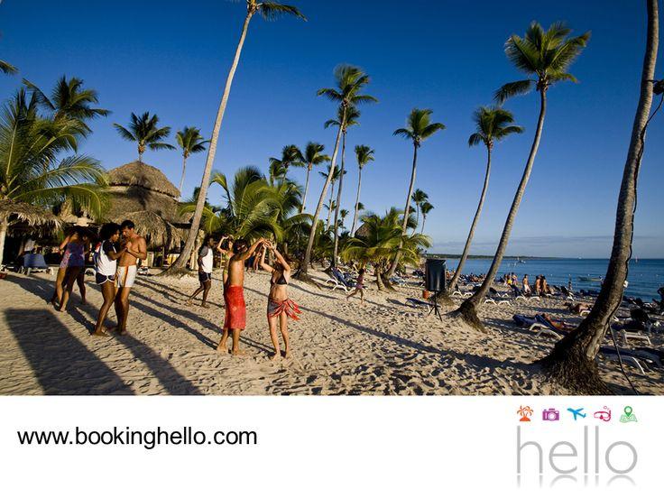 EL MEJOR ALL INCLUSIVE AL CARIBE. Las playas dominicanas, se han convertido en uno de los destinos turísticos más famosos del mundo. Su entorno natural y belleza inigualable son el principal motivo por el que muchas personas quieren pasar sus vacaciones aquí, disfrutando de sus atractivos. En Booking Hello hacemos posible que tú y tus amigos, viajen con todo incluido a alguna de sus playas y vivan unos días fantásticos en el Caribe dominicano. #allinclusivealcaribe
