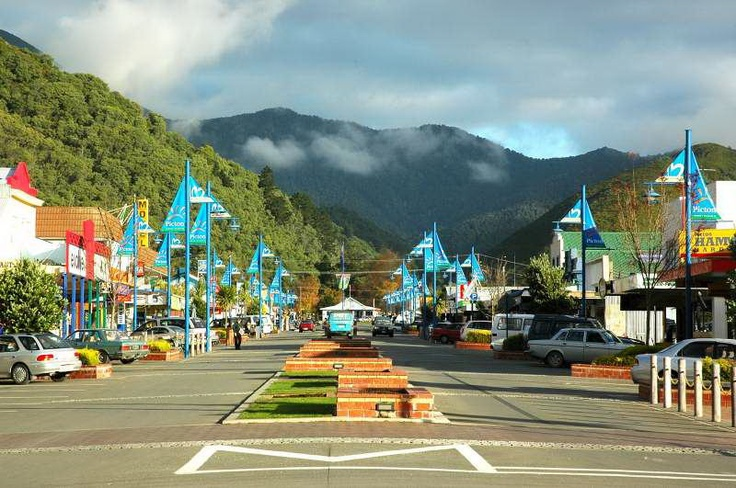 the main street of Picton