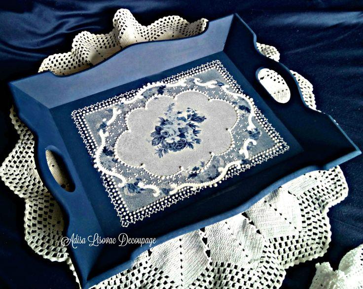 imitation lace decoupage Adisa Lisovac