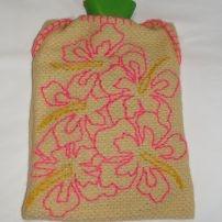 Handful of Pink Hibiscus Hottie Cover