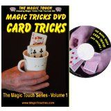 MAGIC CARD TRICKS - Amazing Card Tricks DVD Volume 1 - With Full Demonstration and Explanation of Basic Skills to Enable You to Perform Many Stunning Magical Effects with Sleight of Hand Tricks, Self Working Tricks and Mind Reading Card Tricks by Magic