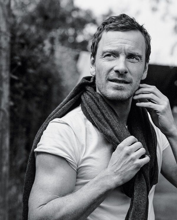 Mr. Fassbender by his acting talent and, of course, his beauty and sexyness.