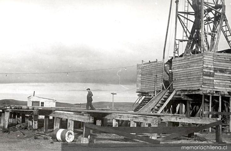 Plataforma petrolera en Tierra del Fuego