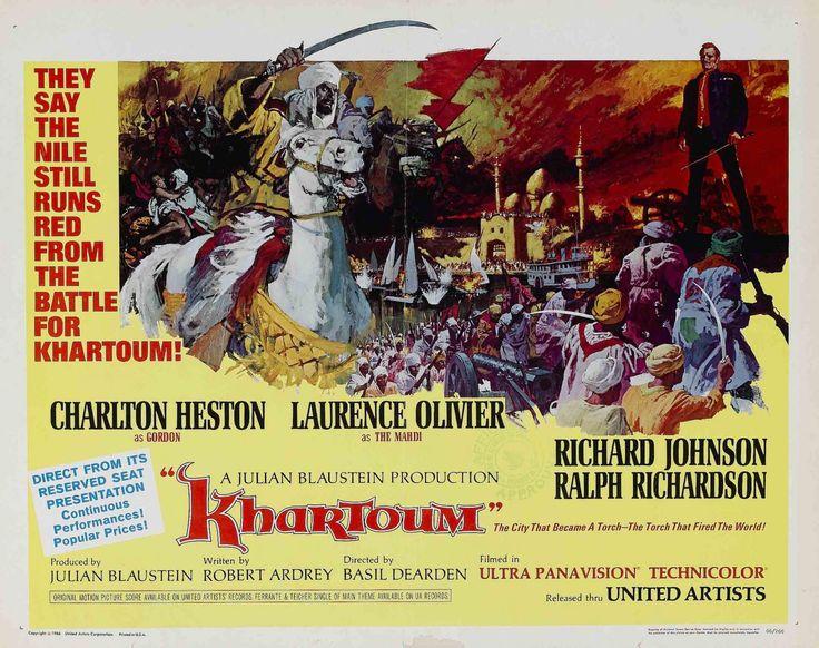 Khartoum (Khartoum) est un film britannique réalisé par Basil Dearden, sorti en 1966. Le film est construit en deux actes.