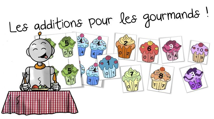 Jeu Sur Les Tables D 39 Addition Les Cupcakes Bout De Gomme Tables Math And Cupcake Table