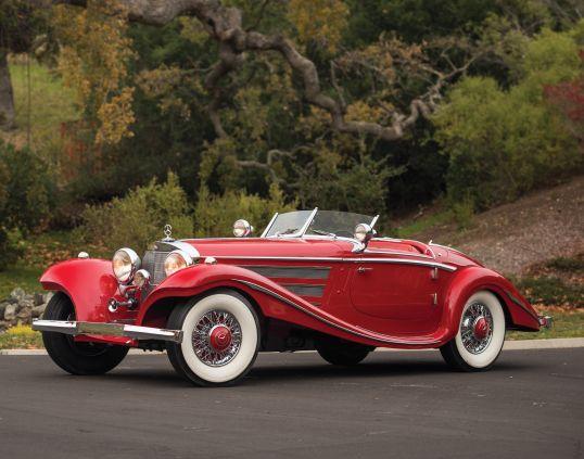 Mercedes-Benz 540K Special Roadster '1937–38